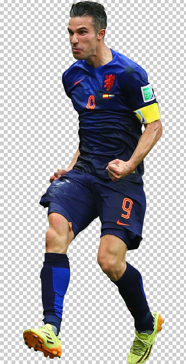 super popular 34b89 75d5b Robin Van Persie 2014 FIFA World Cup Netherlands National ...