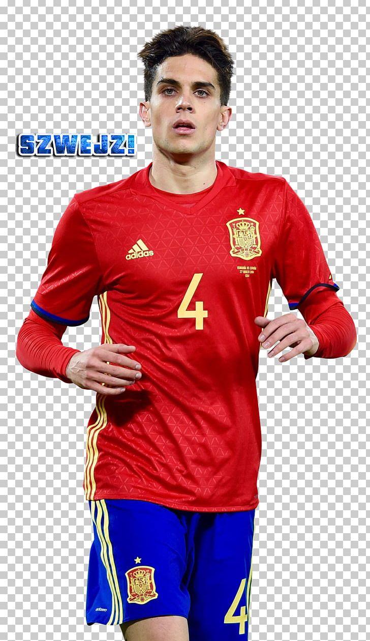 hot sale online ff133 9eff4 Marc Bartra Spain National Football Team Jersey Football ...