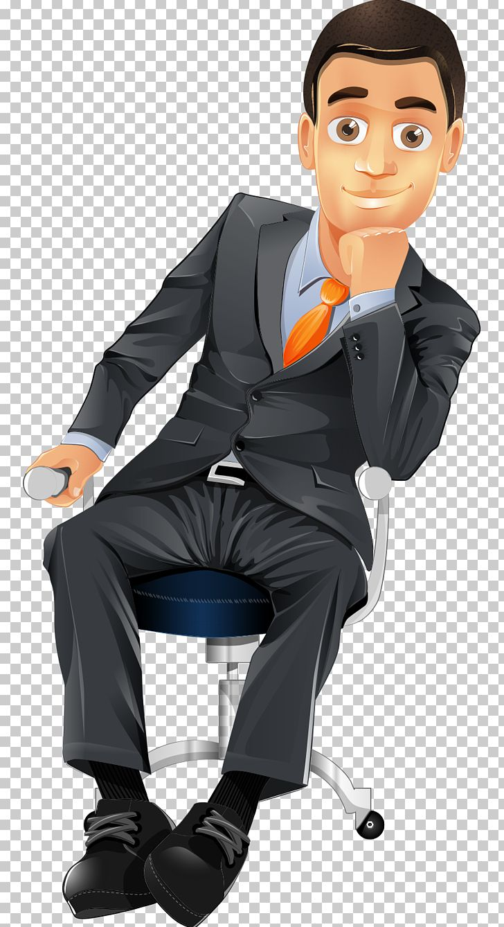 Cartoon Character Businessperson PNG, Clipart, Balloon , Business, Business Card, Business Man, Cartoon Free PNG Download