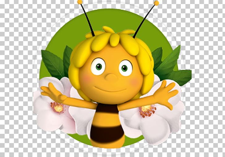 Honey Bee Maya The Bee Png Clipart Bee Book Cartoon Character Drawing Free Png Download