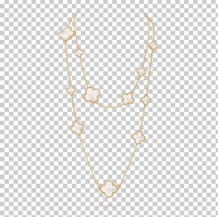 Necklace Earring Van Cleef & Arpels Jewellery Charms & Pendants PNG, Clipart, Alhambra, Amp, Body Jewellery, Body Jewelry, Chain Free PNG Download
