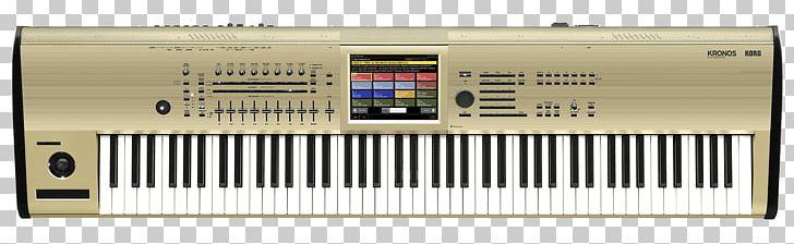 Korg Kronos NAMM Show Music Workstation Keyboard PNG