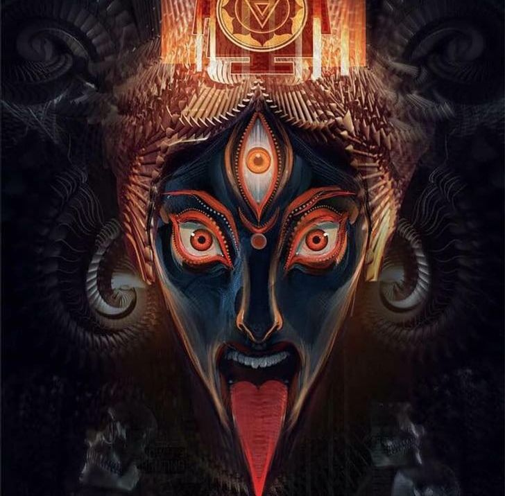 Shiva Kali Art Hinduism Goddess PNG, Clipart, Andrew Jones