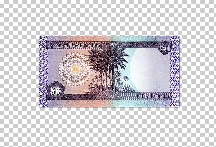 Iraqi Dinar Banknote Currency Iraq Stock Exchange Png