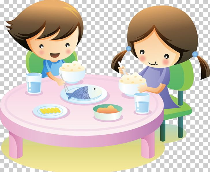Cartoon Children Eat Png Clipart Baby Food Balloon Cartoon Boy