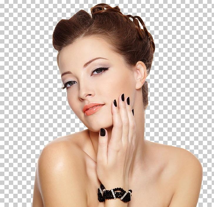 Nail Model Hairstyle Beauty Parlour Fashion PNG, Clipart, Beautiful, Beauty, Beauty Salon, Brown Hair, Cheek Free PNG Download
