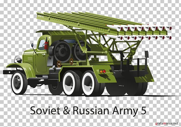 Katyusha Rocket Launcher Graphics Military Design PNG