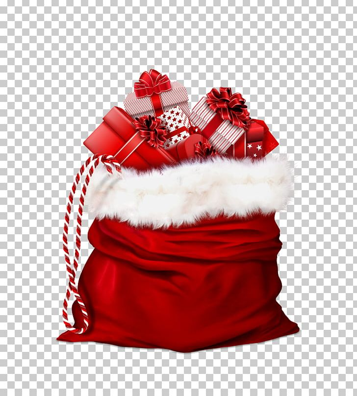 Santa Claus Gift Wrapping Christmas Gift PNG, Clipart, Bag, Child, Christmas, Christmas And Holiday Season, Christmas Decoration Free PNG Download