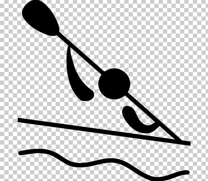 Pictogram Canoe Slalom Canoeing And Kayaking At The Summer Olympics PNG, Clipart, Artwork, Black, Black And White, Canoe, Canoeing Free PNG Download
