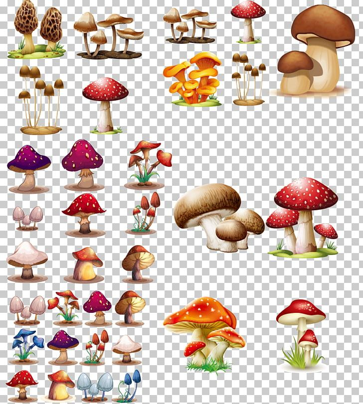 Mushroom Fungus Png Clipart Cartoon Cartoon Mushroom Cartoon
