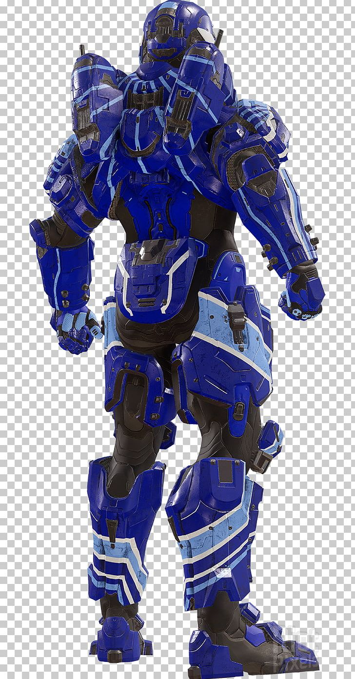 Halo 5: Guardians Halo 4 Halo: Spartan Strike 343 Industries Armour PNG, Clipart, 343 Industries, Action Figure, Armory, Blue, Cobalt Blue Free PNG Download