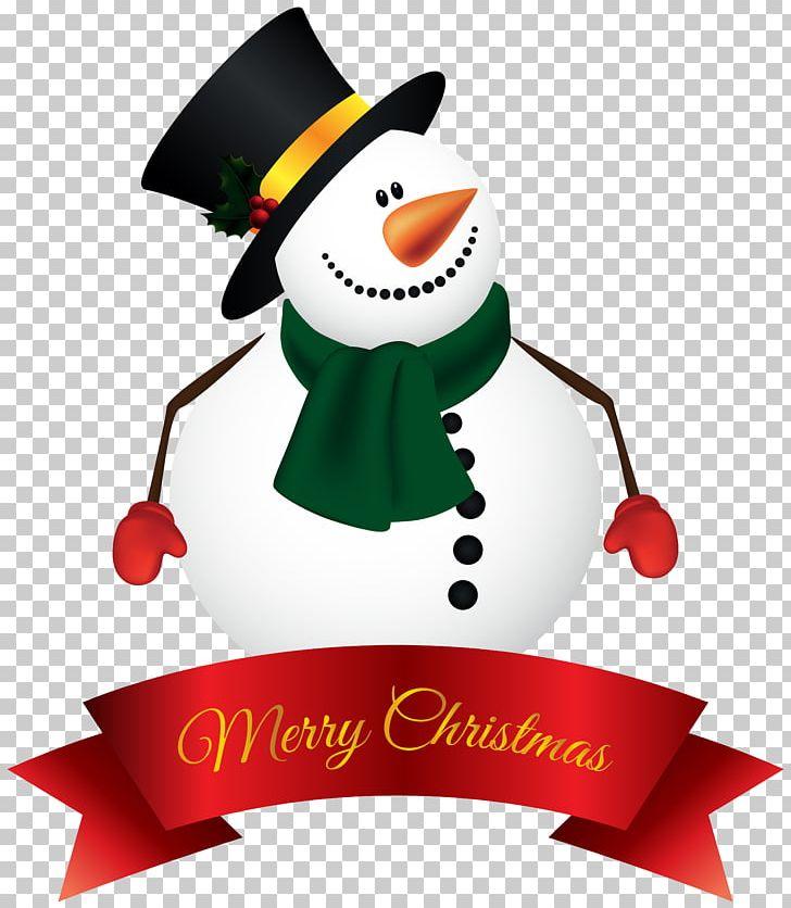 Santa Claus Snowman Christmas PNG, Clipart, Banner, Christmas, Christmas Card, Christmas Clipart, Christmas Ornament Free PNG Download
