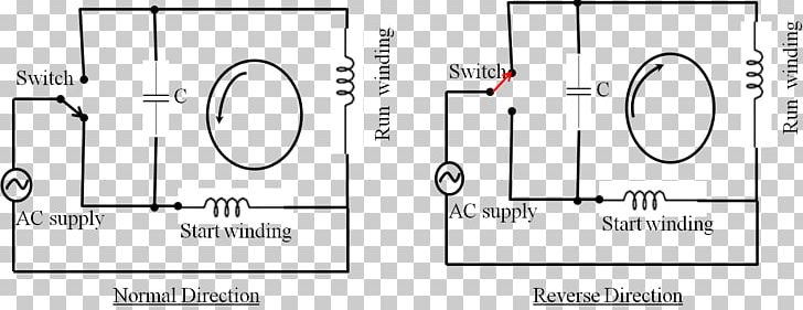 wiring diagram single-phase electric power electrical wires & cable motor capacitor  circuit diagram png, clipart,