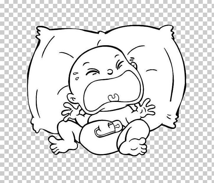 Baby Crying stock vector. Illustration of health, diaper - 90683357