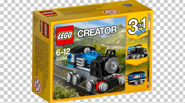 Lego Creator Toy LEGO 31054 Creator Blue Express PNG, Clipart, Blue, Construction Set, Island Vacation, Lego, Lego City Free PNG Download