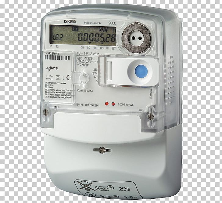 Smart Meter Electricity Meter Energy Automatic Meter Reading PNG