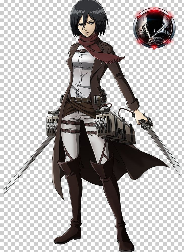 Mikasa Ackerman Eren Yeager A.O.T.: Wings Of Freedom Attack On Titan Manga PNG, Clipart, Action Figure, Anime, Anime Render, Aot Wings Of Freedom, Attack On Titan Free PNG Download