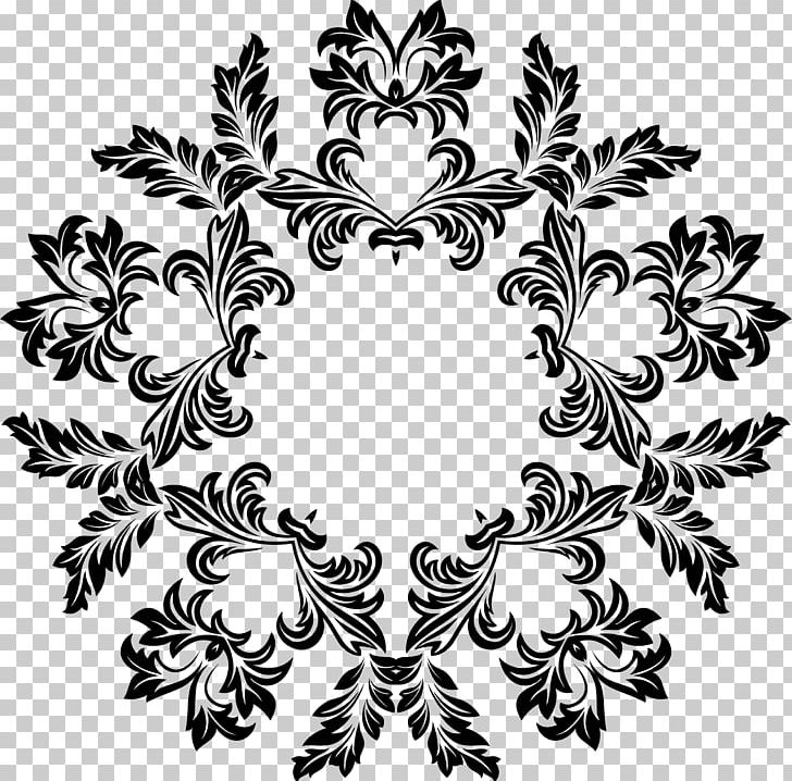 Floral Design Ornament Decorative Arts PNG, Clipart, Art, Black And White, Border Frames, Branch, Circle Free PNG Download