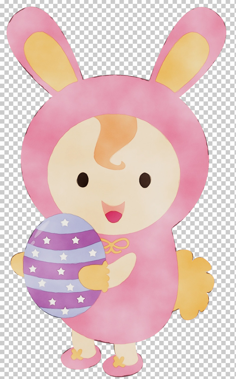 Pink Cartoon Rabbit Rabbits And Hares PNG, Clipart, Cartoon, Paint, Pink, Rabbit, Rabbits And Hares Free PNG Download