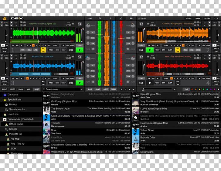 Computer Software Virtual DJ Computer DJ Disc Jockey Mixxx PNG
