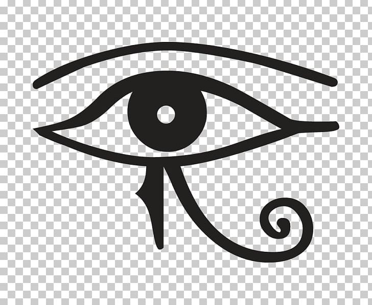 Ancient Egypt Eye Of Horus Egyptian Hieroglyphs PNG, Clipart, Ancient Egypt, Ancient Egyptian Deities, Black And White, Circle, Egyptian Free PNG Download