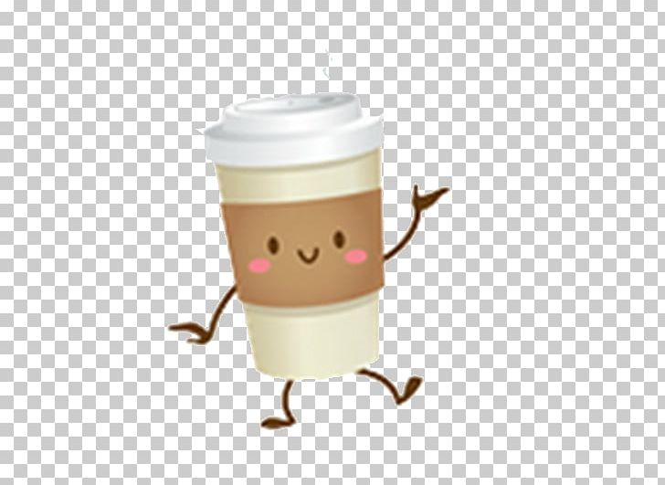 Coffee cup animated. Tart fast food drawing