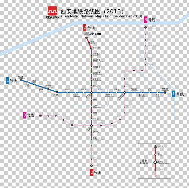 Xian Subway Map.Xi An Xianyang Rapid Transit Line 1 Xi An Metro Png Clipart Angle