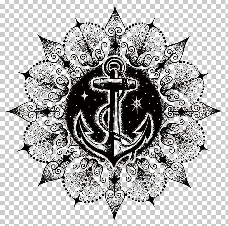 Anchor Tattoo Mandala Symbol Ship Png Clipart Anchor Anchor Faith