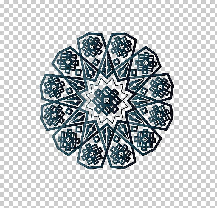 Islamic Geometric Patterns Png Clipart Blue Blue Abstract