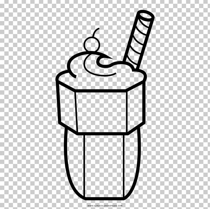 Milkshake Ice Cream Smoothie Drawing Png Clipart Angle
