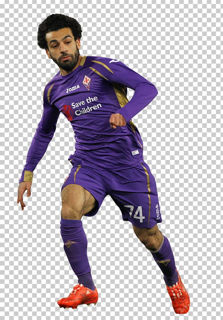 newest 6ffee 5f4c9 Mohamed Salah ACF Fiorentina FC Basel Football Player Jersey ...
