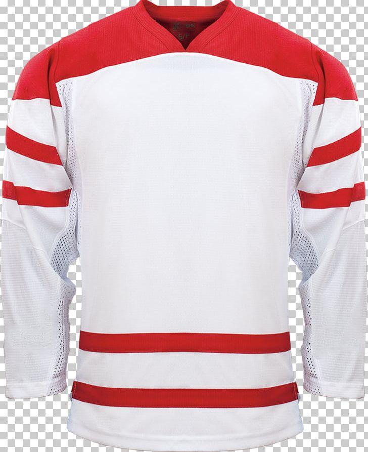 official photos c4c09 e9ef2 T-shirt Hockey Jersey Canada Men's National Ice Hockey Team ...