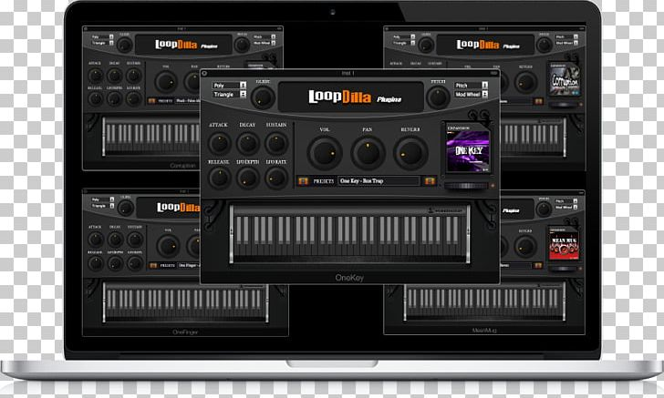 Sound Plug-in Musical Instruments Loop Software Synthesizer PNG
