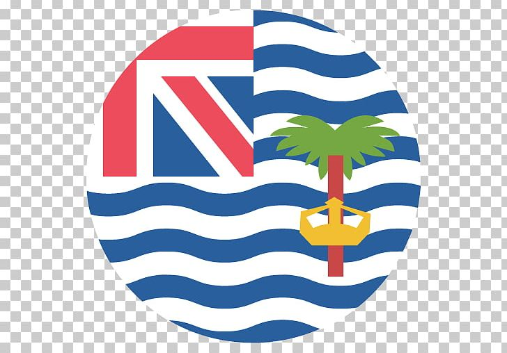 Flag Of The British Indian Ocean Territory Face With Tears Of Joy