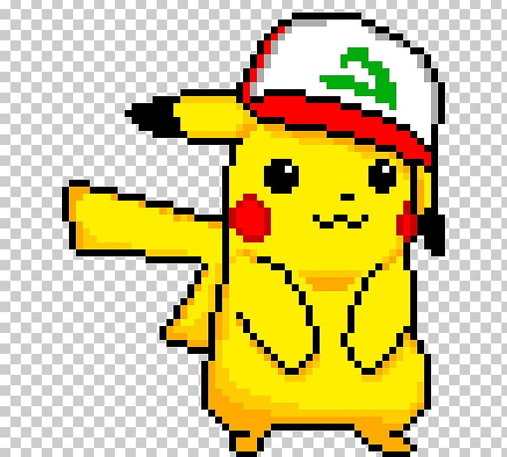Pikachu Ash Ketchum Pixel Art Pokémon Bead Png Clipart