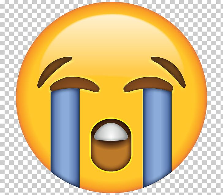 Face With Tears Of Joy Emoji Crying Laughter Sticker PNG ...