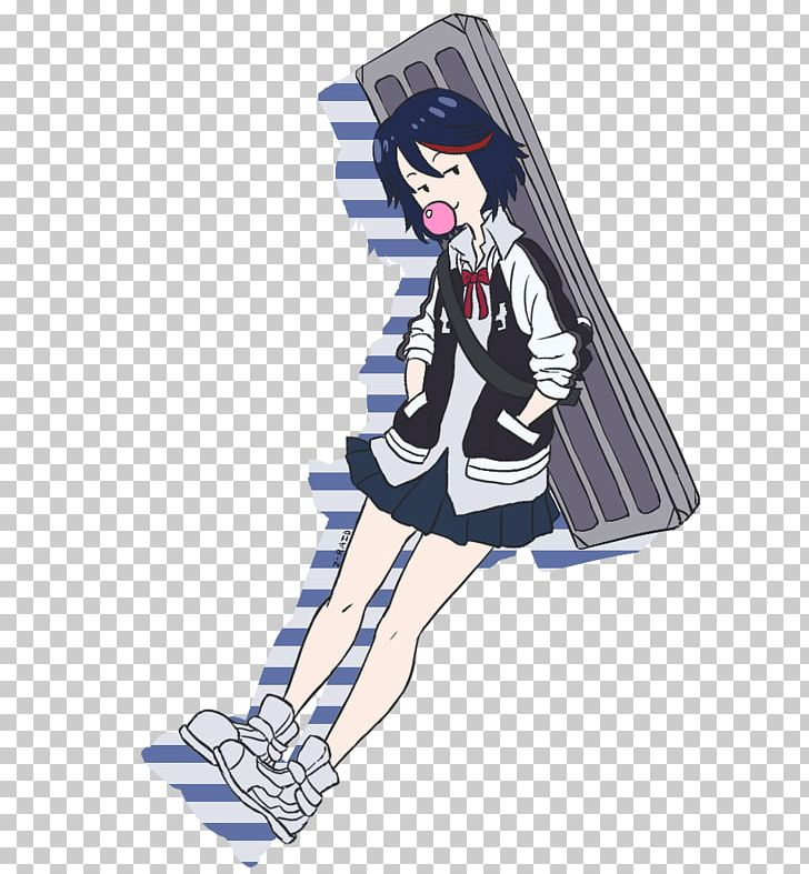 Ryuko Matoi Fan Art Character Anime Png Clipart Anime Art