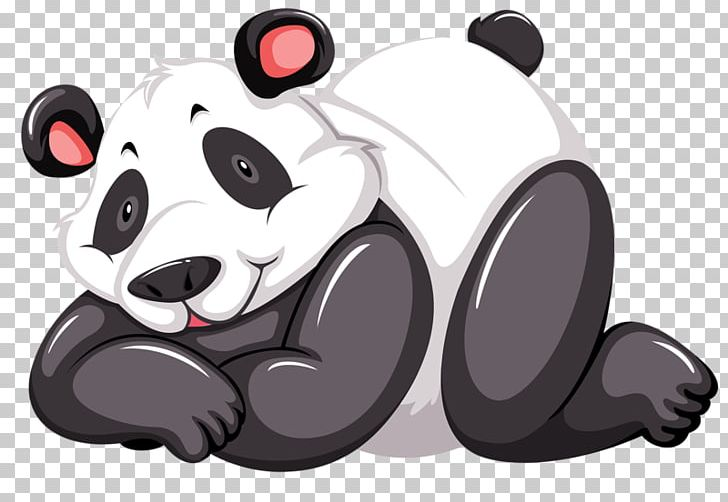 Body cute. Giant panda red bear
