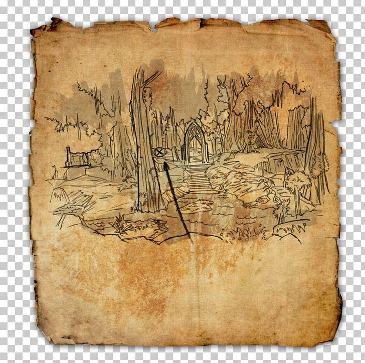 The Elder Scrolls Online Treasure Map Treasure Island PNG ...
