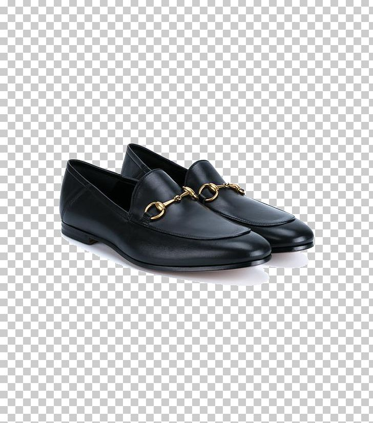 Gucci Slip-on Shoe Leather Moccasin PNG