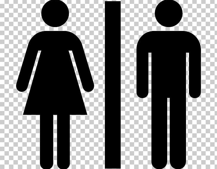 Public Toilet Female Woman Png Clipart Bathroom Black Black And