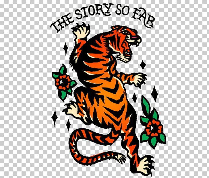 54a9d3e5d0f36 Tiger The Story So Far Tattoo Pop Punk Navy Blue PNG, Clipart, Artwork, Big  Cats, Carnivoran, ...