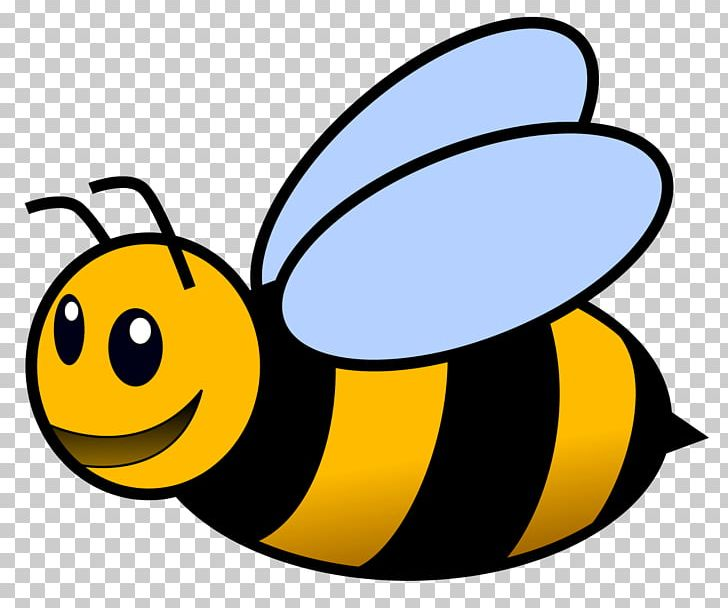 Honey Bee Cartoon Png Clipart Artwork Bee Beehive Bees Bumblebee Free Png Download