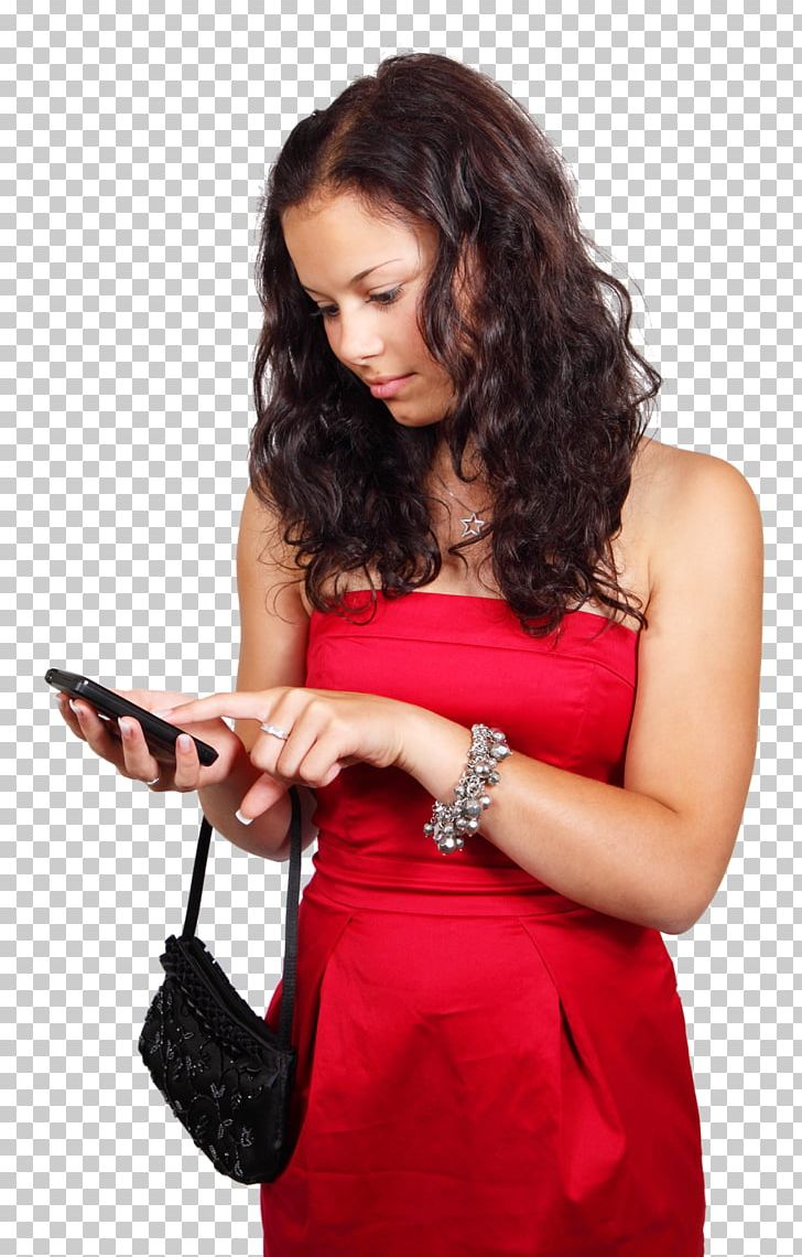 Mobile Phone Mobile App Android Email WhatsApp PNG, Clipart, Arm, Brown Hair, Cocktail Dress, Electronics, Fashion Model Free PNG Download
