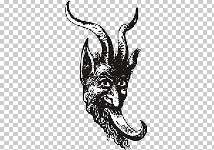 Krampus Santa Claus Saint Nicholas Day Christmas Demon PNG, Clipart, Art, Black And White, Christmas, Demon, Devil Free PNG Download