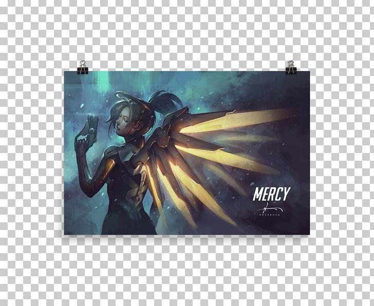 Overwatch Desktop Mercy Gaming S Mei Png Clipart 4k