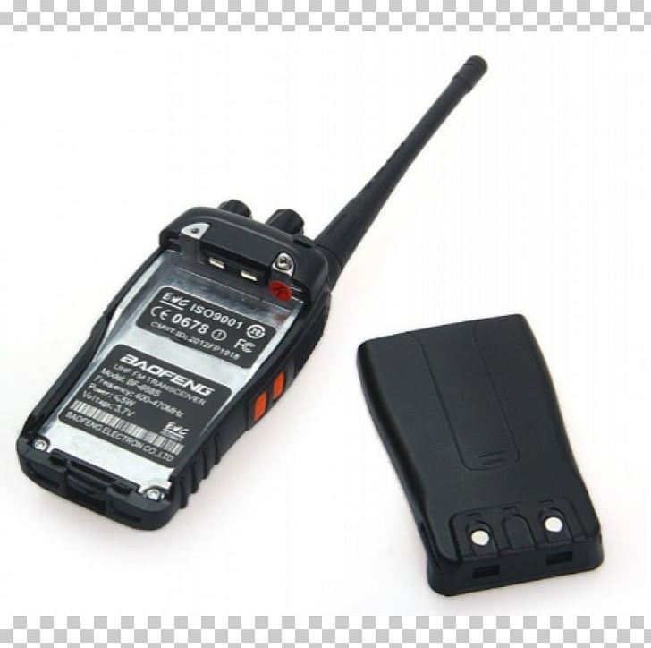 Walkie-talkie Two-way Radio Ultra High Frequency Continuous Tone-Coded Squelch System PNG, Clipart, Band, Baofeng, Bf 888 S, Communication Channel, Communication Device Free PNG Download