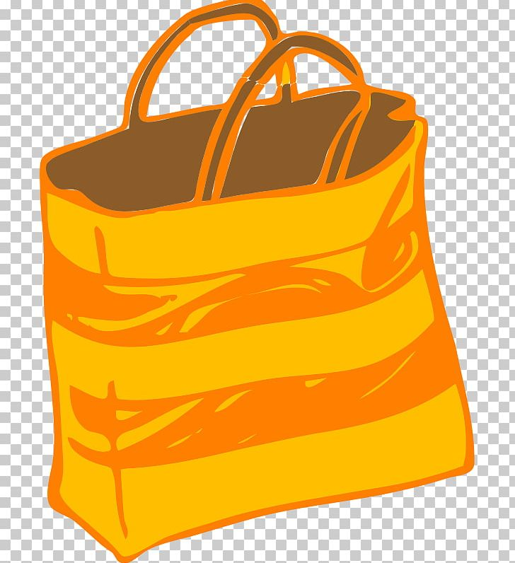 Shopping Bag Tote Bag PNG, Clipart, Bag, Clothing Accessories, Handbag, Line, Orange Free PNG Download