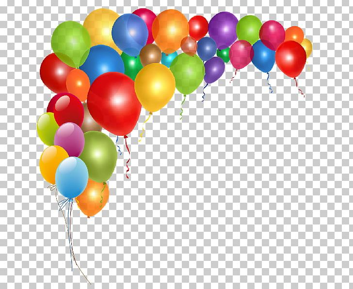 Balloon party. Birthday png clipart clip