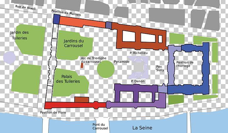 Tuileries Garden Louvre Museum Tuileries Palace Pavillon De ...